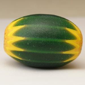 緑と黄色の変わりシェブロン
