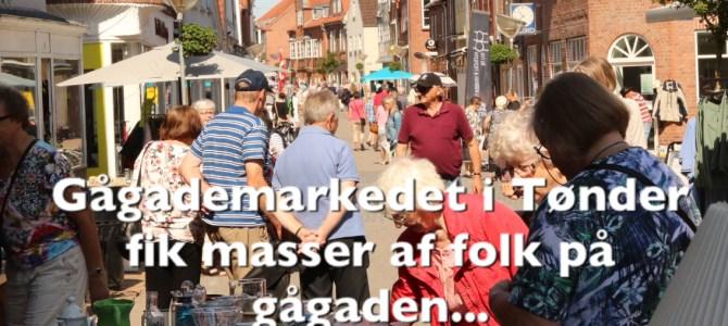 Gågademarkedet fik masser af folk på gågaden