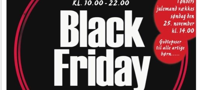 Black Friday – i Tønder går priserne helt i sort nu på fredag