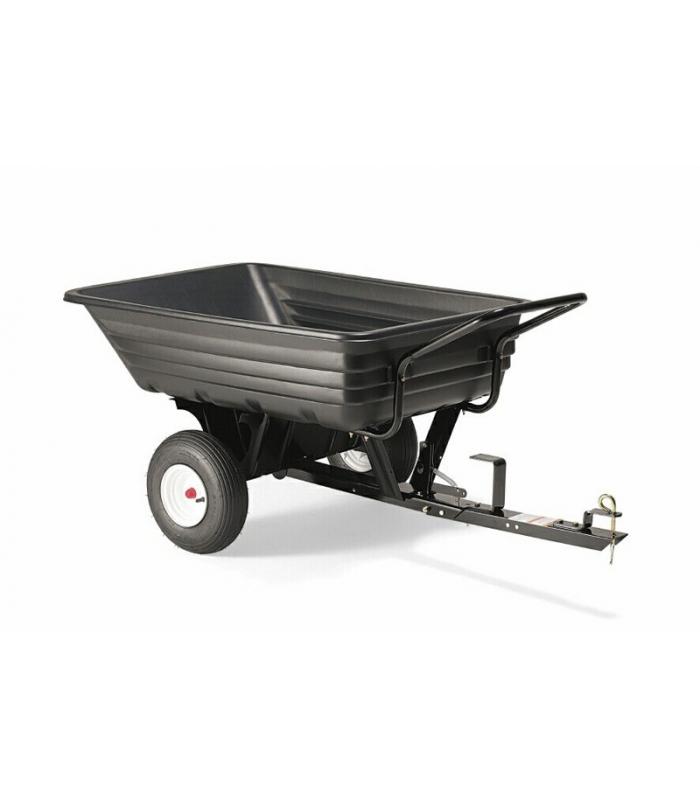 Remorque  Remorque pour tracteur tondeuse transformable en brouette