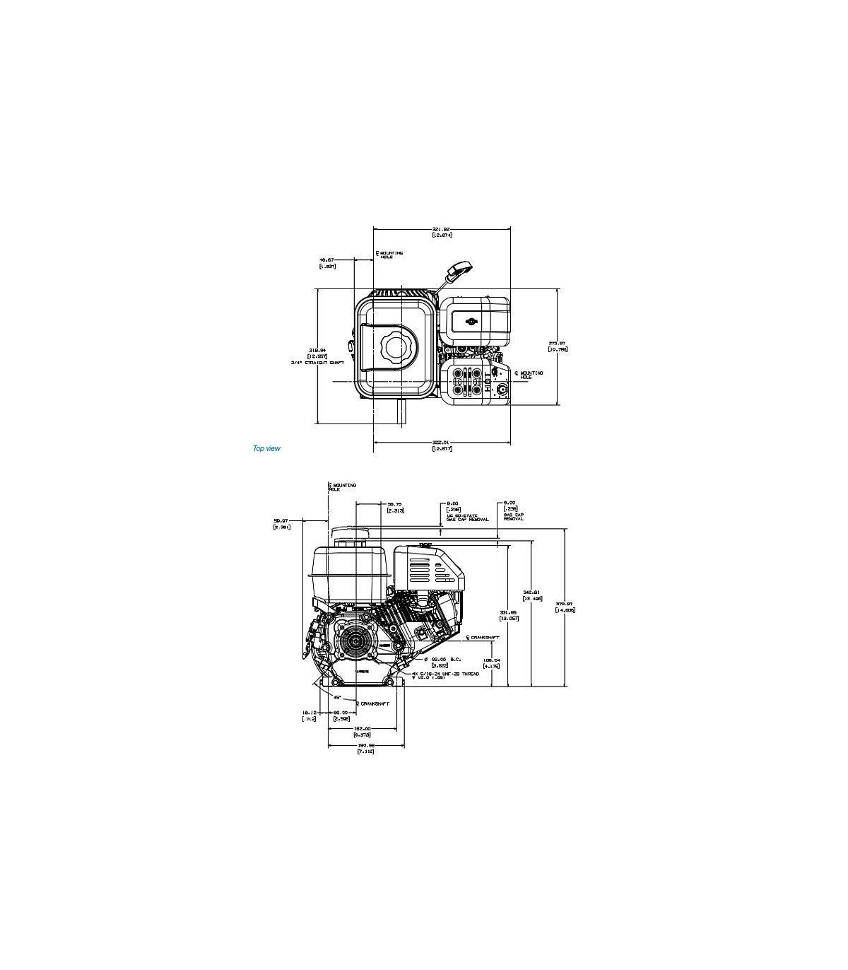 moteur kohler courage sh265,moteur pour bétonnière,moteur
