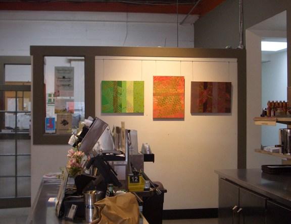 Rose Cafe art show