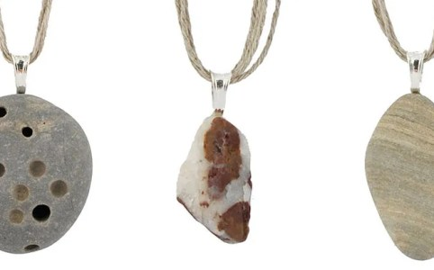 Cassandra Tondro Beach Rock Necklaces
