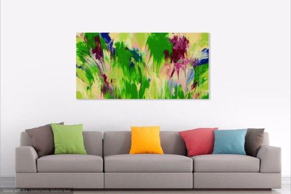"Cassandra Tondro, ""Meltdown,"" abstract art"