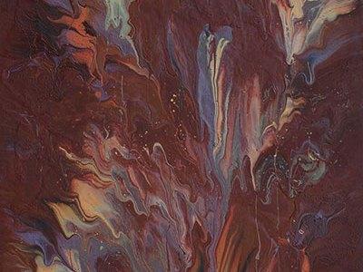 """Cassandra Tondro, """"Earth Mantra,"""" Earth art"""