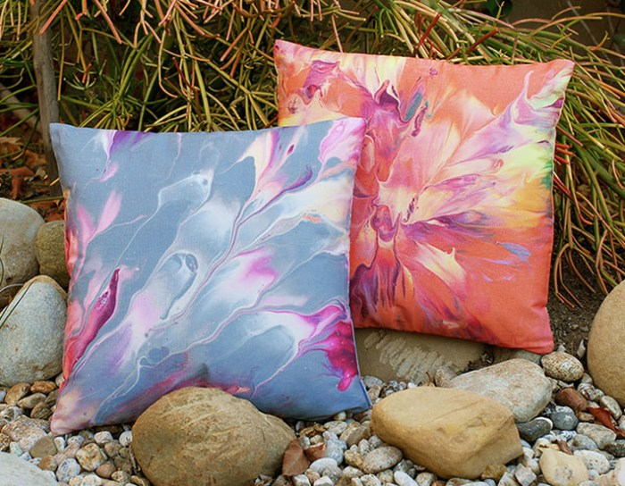 Cassandra Tondro throw pillows