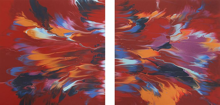 "Cassandra Tondro, ""Big Bang,"" abstract painting"