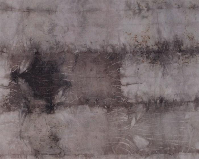 """Cassandra Tondro, """"Exploring Grays,"""" natural dye art"""