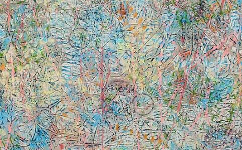 "Cassandra Tondro, ""All In a Dream,"" abstract art"