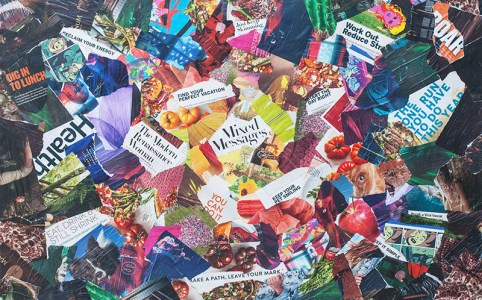 Cassandra Tondro artist collage