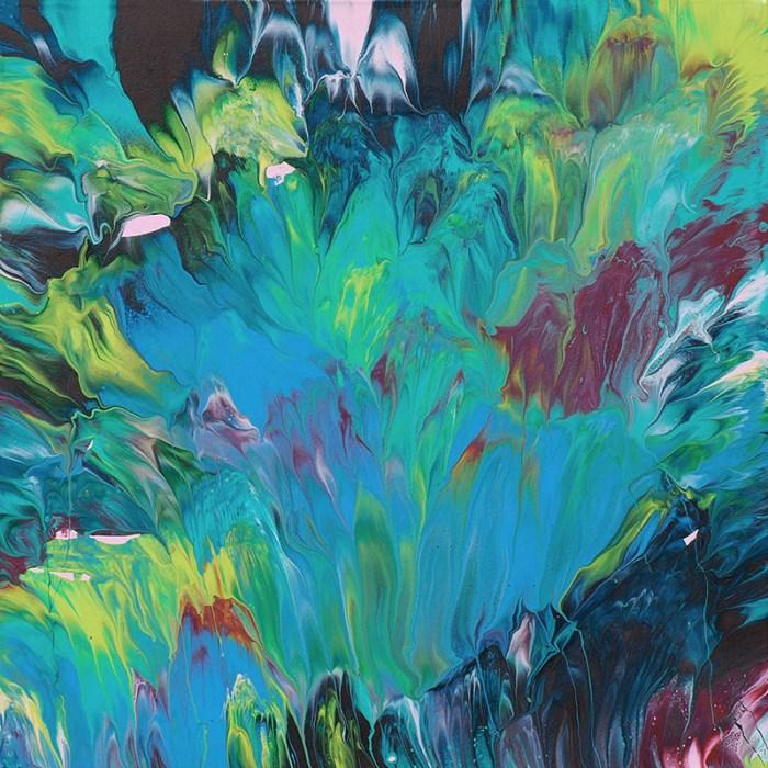"Cassandra Tondro, ""Opening,"" abstract art"