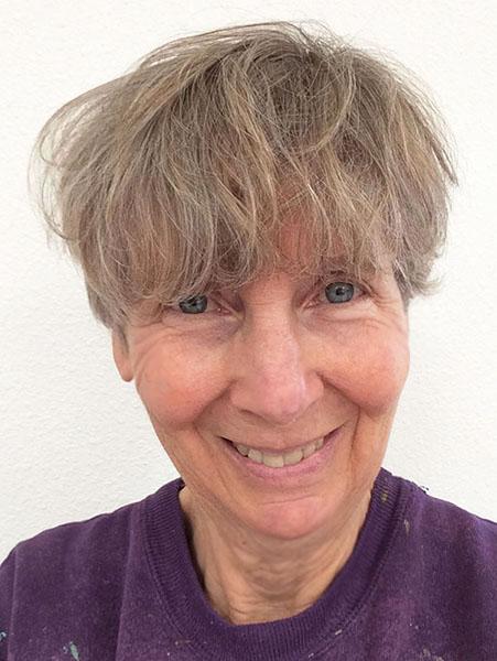 Artist Cassandra Tondro coronavirus haircut