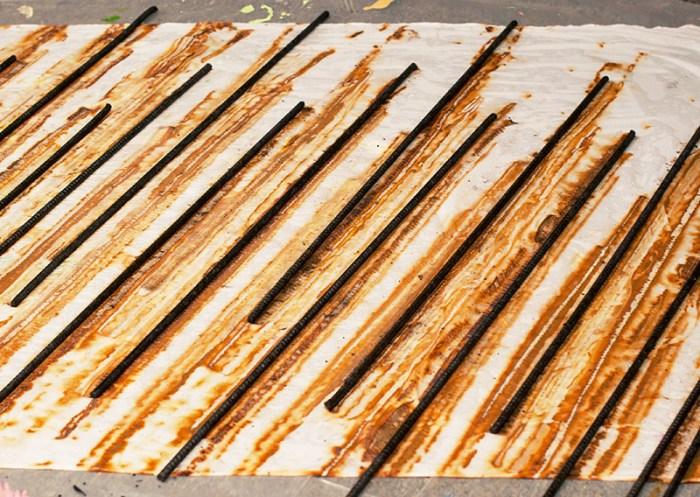Rusty Rebar Dye