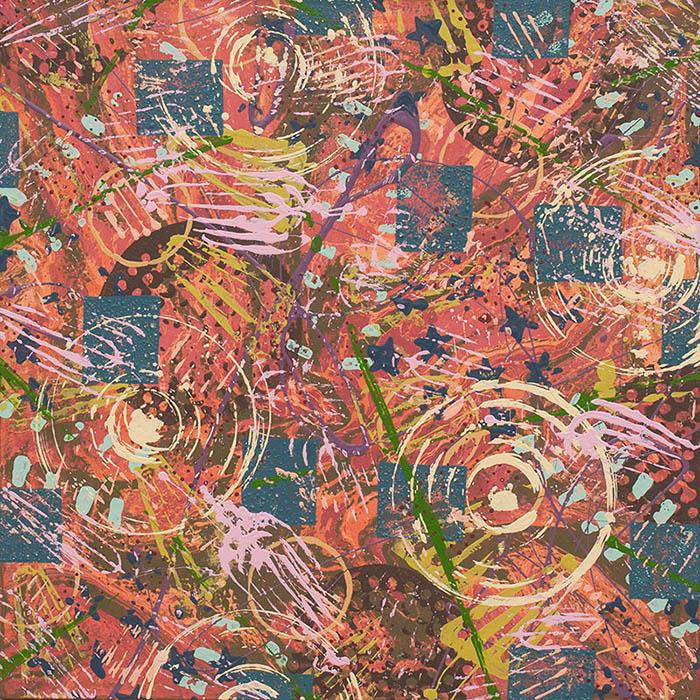 """Cassandra Tondro, """"Cyclone,"""" abstract painting"""