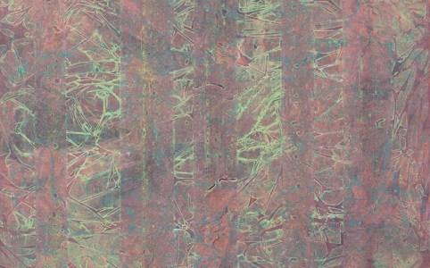 """Cassandra Tondro, """"Fade,"""" abstract painting"""