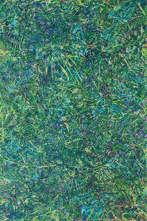 "Cassandra Tondro, ""Grandmother's Garden,"" abstract painting"