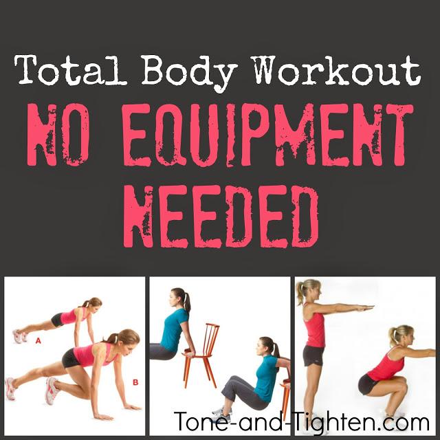 Full Body Circuit No Equipment Rock That Body Pinterest