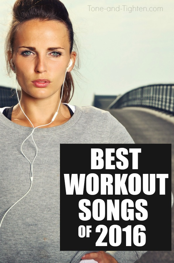 best workout songs playlist of 2016