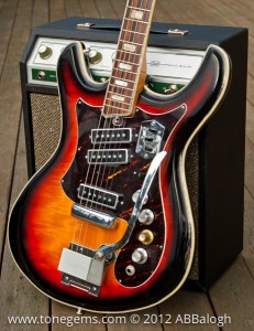 Silvertone 1445 Guitar and Sears 10XL Tube Amp