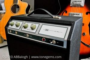 1970 Sears 10XL Silvertone 142 Control Panel
