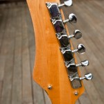 Silvertone 1445 Guitar Headstock and Tuners