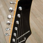 Silvertone 1445 Guitar Headstock with Block Logo