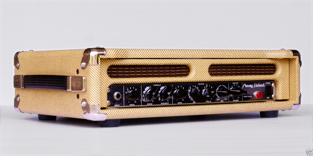Peavey Valverb in Tweed Case