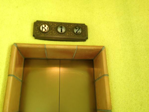 ジブリ美術館のエレベーター