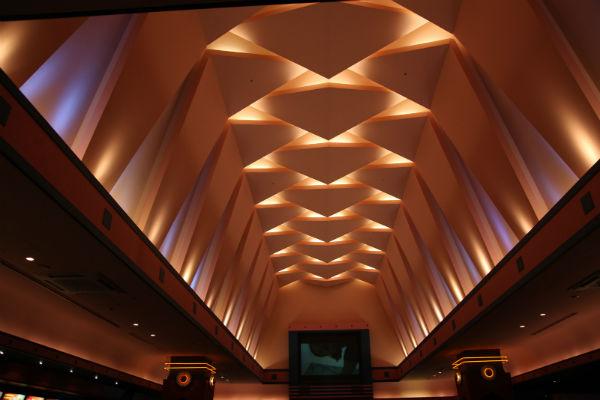 映画館の天井