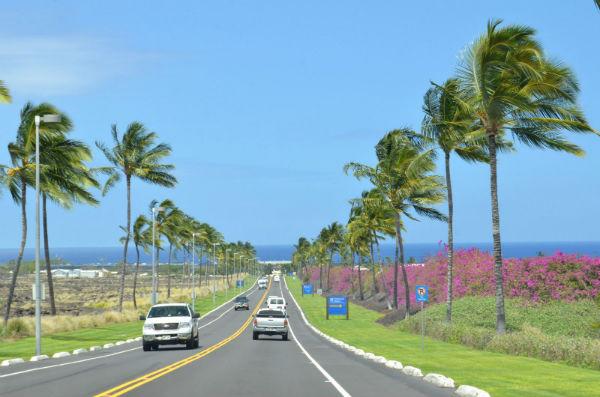 ハワイ オアフ島の道路