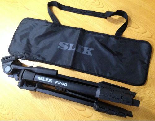 SLIK三脚F740と専用ケース