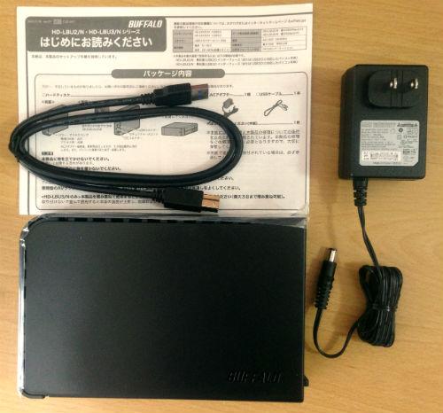 BUFFALO USB3.0 外付けハードディスク 【Wii U動作確認済み】 PC/家電対応 2TB HD-LB2.0TU3/N