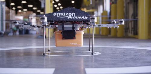 Amazon-Prime Air 配達開始