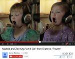 """再生回数800万回突破!4歳の姉妹が歌う""""Let It Go""""に癒される!"""