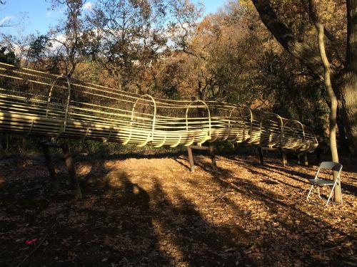 あつぎこどもの森公園「森のすべり台」