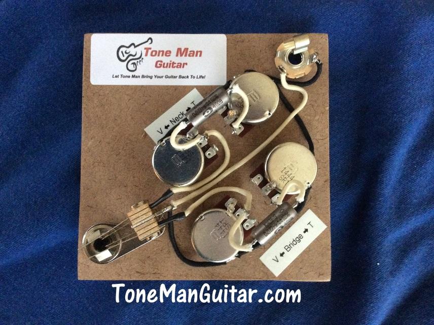 Kits Gibson Style Es 335 3 Way Guitar Wiring Kit