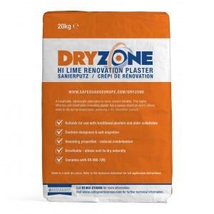Dryzone Hi-Lime Renovation Plaster