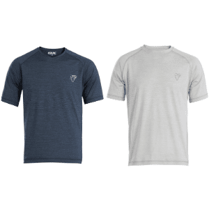 OX Tech Crew T-Shirt Grey Or Navy S, M, L, XL, XXL