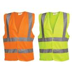 OX Hi Visibility Vest - Orange & Yellow