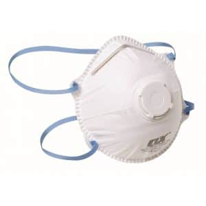 OX FFP2V Moulded Cup Respirator – 2pk Blister - OX-S485302