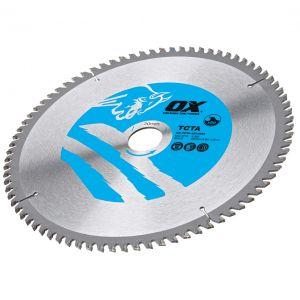 OX Alu/Plastic/Laminate Cutting Circular Saw Blade - OX-TCTA-1842048 - OX-TCTA-1903048 - OX-TCTA-2103060 - OX-TCTA-2163060 - OX-TCTA-2163080 - OX-TCTA-2503080 - OX-TCTA-25030100 - OX-TCTA-30030100