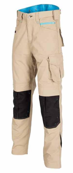 Beige Ripstop Trouser Front
