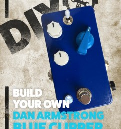 build your own dan armstrong blue clipper [ 3200 x 4146 Pixel ]