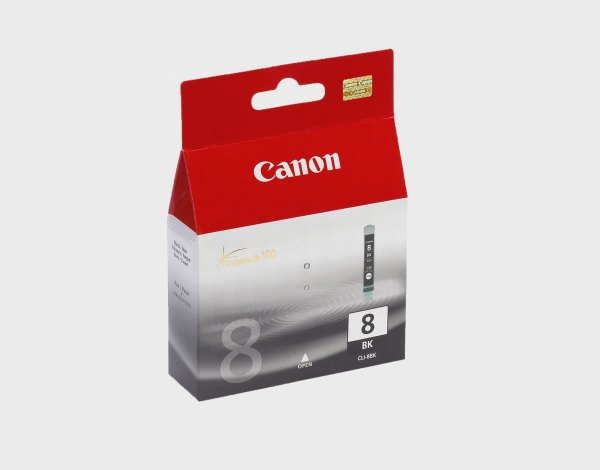 Canon 8 BK / CLI-8 black original kertridž