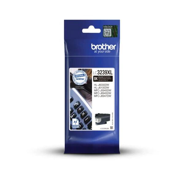 Brother LC-3239 XL BK Kertridž Original Crni Black