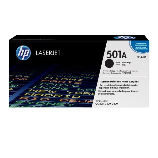 HP 501A Toner Original / Q6470A