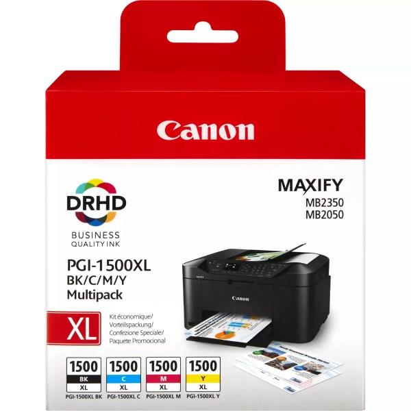 Canon PGI-1500XL Kertridž Original CMYK Multipack