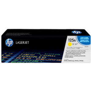 HP 125A Yellow Laserjet toner