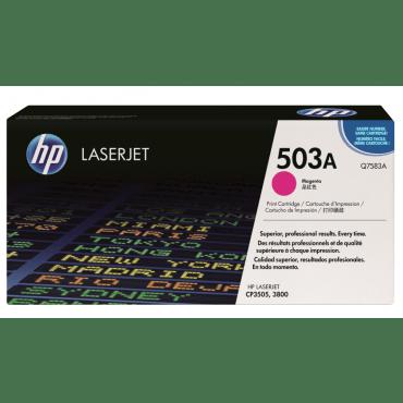 HP 503A Magenta LaserJet Toner Cartridge (Q7583A)