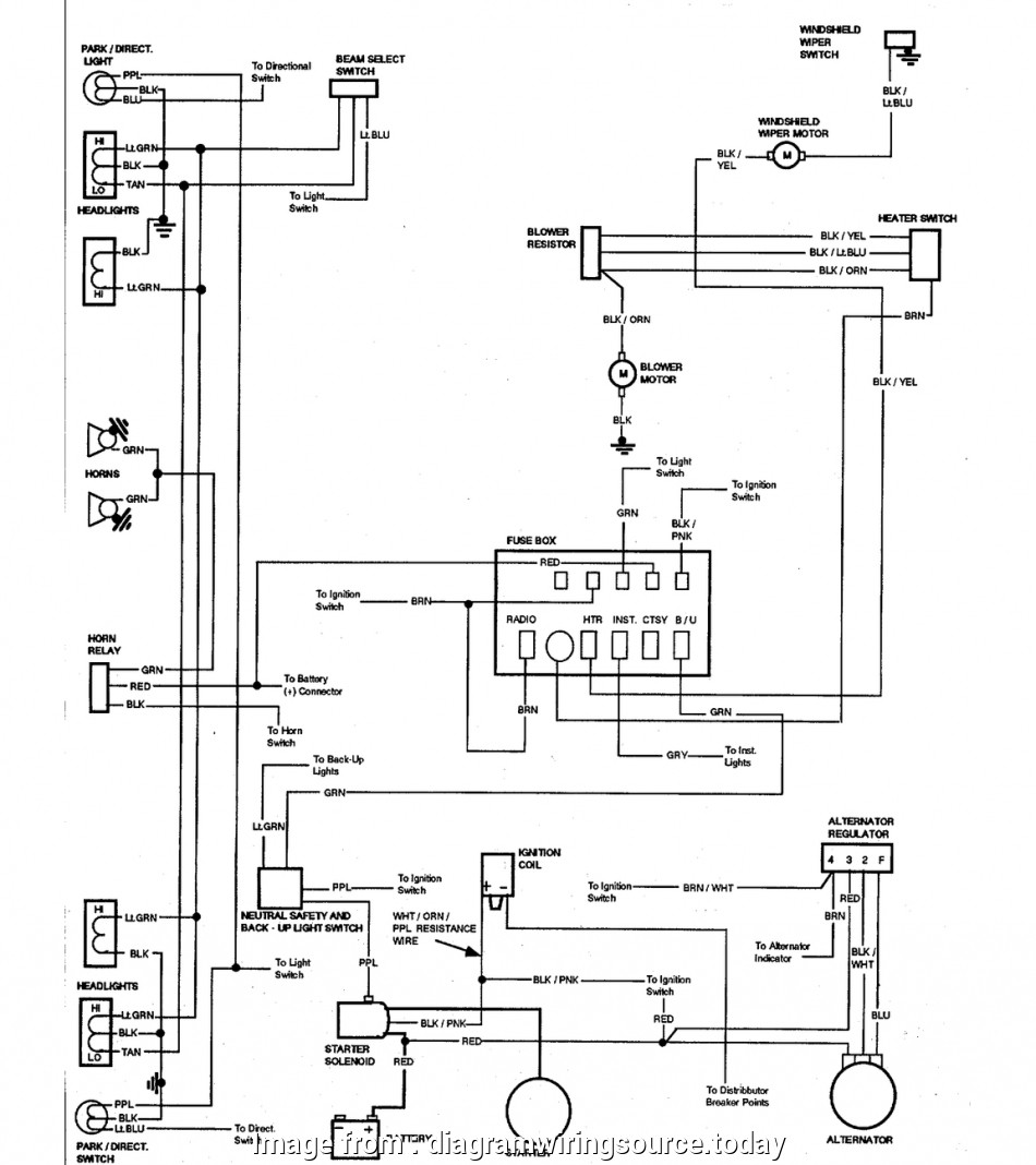 1969 Chevelle Starter Wiring Diagram New Wiring Diagram, A